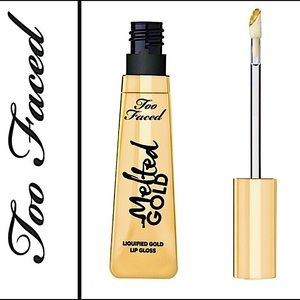 🆕⭐️TOO FACED LIQUID GOLD INFUSED LUXE SPARKLE LIP